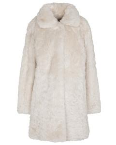 Mytheresa发售 —Meteo羊毛皮有领大衣