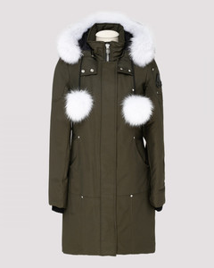 Stirling army green parka