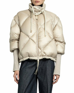 cropped puffer jacket
