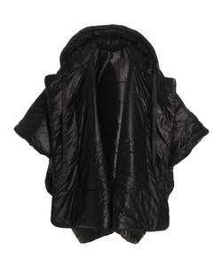 Cropped Parka Jacket W/ Fur Trim