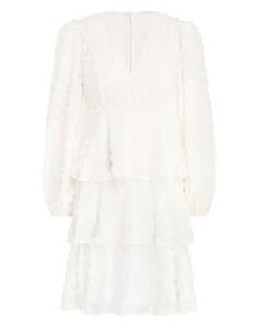 Textured Dot Mini Dress