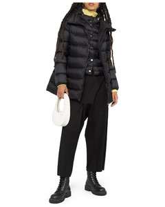 Ange double-layer padded coat