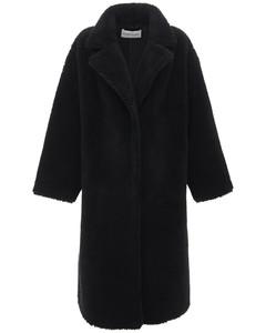 Maria Faux Teddy Long Coat