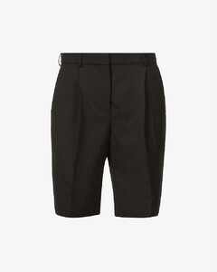 Ruthie high-rise woven shorts