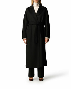 'Amore' coat in virgin wool and cashmere