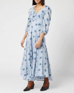 Women's Sea Glass Midi Dress - Blue Combo