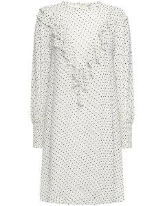 Woman Rometty Ruffled Printed Georgette Dress