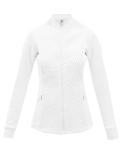 Meryl high-neck quilted mid-layer jacket