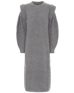 Bea wool and cashmere midi dress