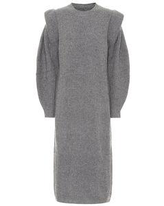 Bea wool and cashmere midi dress