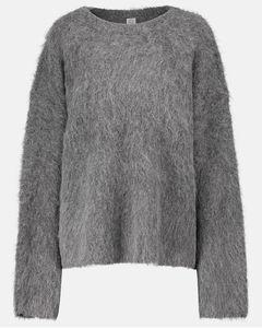 羊驼毛混纺毛衣