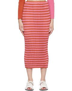 粉色Spongy半身裙