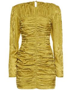 High-rise wide-leg wool trousers