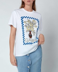 Women's Basic Cotton Jersey T-Shirt - Bright White