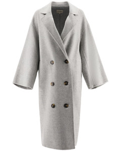 Coats Loulou Studio for Women Grey Melange