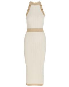 雪纺绸连衣裙