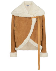 羊毛皮夹克