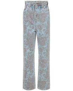 Levi's Printed Light Indigo Denim Jeans