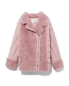Sherpa down jacket