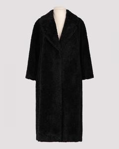 Black Nava Teddy coat