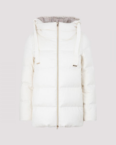 Cashmere and Silk Down Jacket
