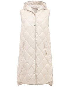 Quilted Tech Waterproof Down Vest