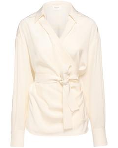 Cachi Silk Crepe De Chine Shirt