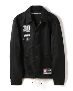 Logo coach jacket