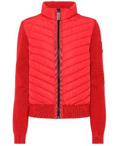 HyBridge®down and merino wool jacket
