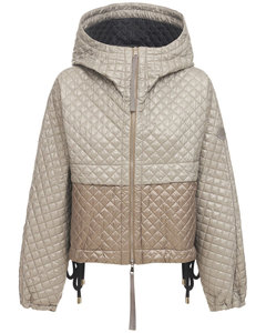 Citrine Nylon Short Down Jacket