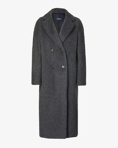 Torbole double-breasted alpaca-, wool- and cashmere-blend coat
