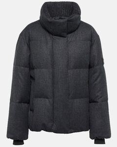 Bady down jacket in cyclamen color