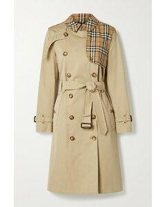 Hern Embellished Cotton-gabardine Trench Coat - UK10