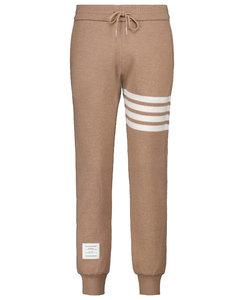 棉质与羊绒混纺运动裤