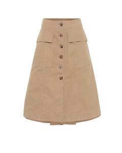 棉质半身裙