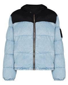 hybrid puffer jacket
