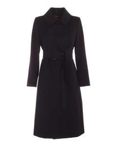 3bcolla coat in black