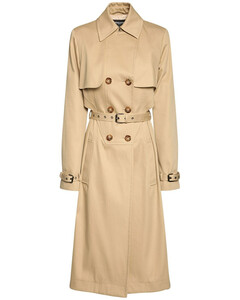 Organic Cotton Double Breast Trench Coat
