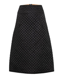 2 MONCLER 1952绗缝羽绒中长半身裙