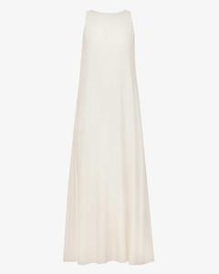 Black/white fringed skirt