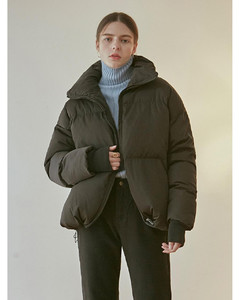 ACTIVE DUCK DOWN PUFFER PADDING_BLACK
