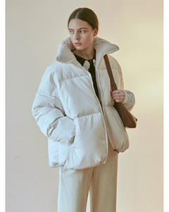 ACTIVE DUCK DOWN PUFFER PADDING_IVORY