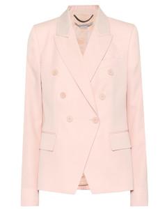 羊毛西装式外套
