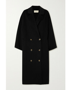 Borneo Oversized Double-breasted Wool And Cashmere-blend Coat