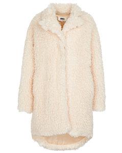 人造羊毛皮泰迪大衣