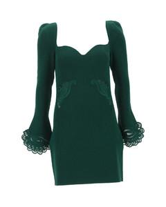 Fringed Crochet-paneled Cotton-jersey T-shirt