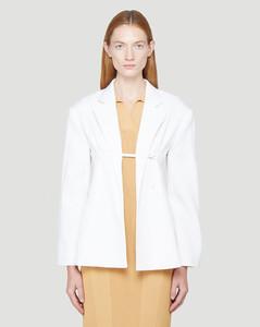 La Veste Sauge Blazer in White
