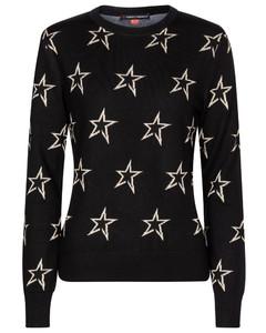 Floro merino wool-blend sweater