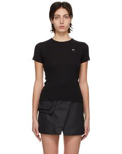黑色Minifit T恤