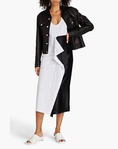 Coccobill 2 polka-dot print devorésatin dress